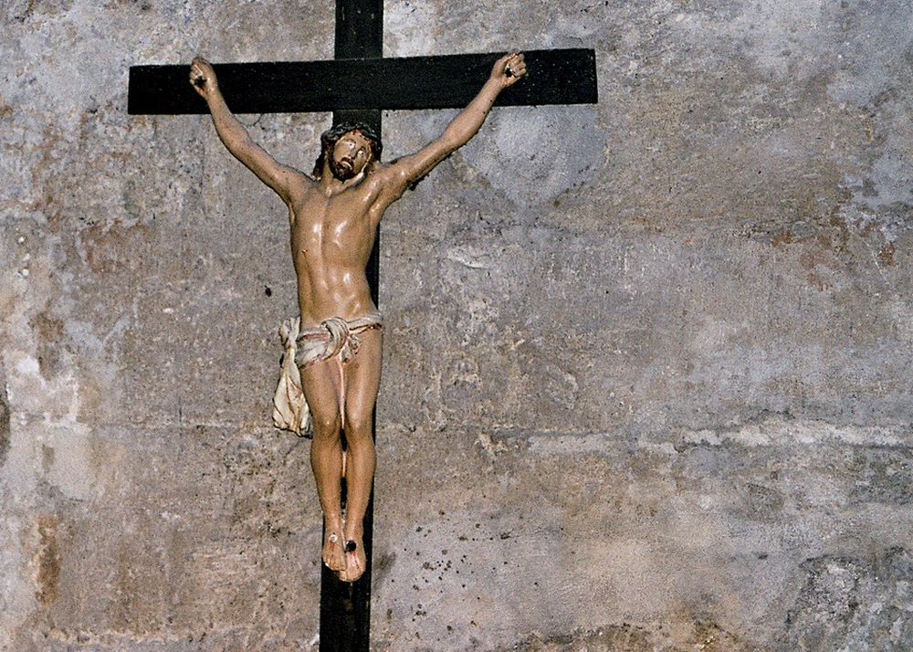 KRISTEN TRO: Jesus ble korsfestet på en fredag: Ikke lenge etter hans siste nattverd med disiplene. De var 13 til bords.