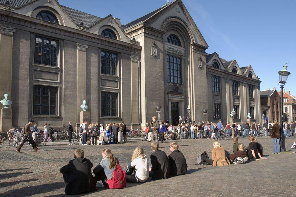 ETT AV FEM: Københavns Universitet er et av fem danske universiteter som har fått sin kjemiutdanning evaluert. Her konkluderes det med at studentene får en tradisjonell og solid utdanning, men at de utstyrsmessige forholdene kunnne vært bedre.