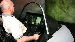 Krigersk sjarmoffensiv med simulator