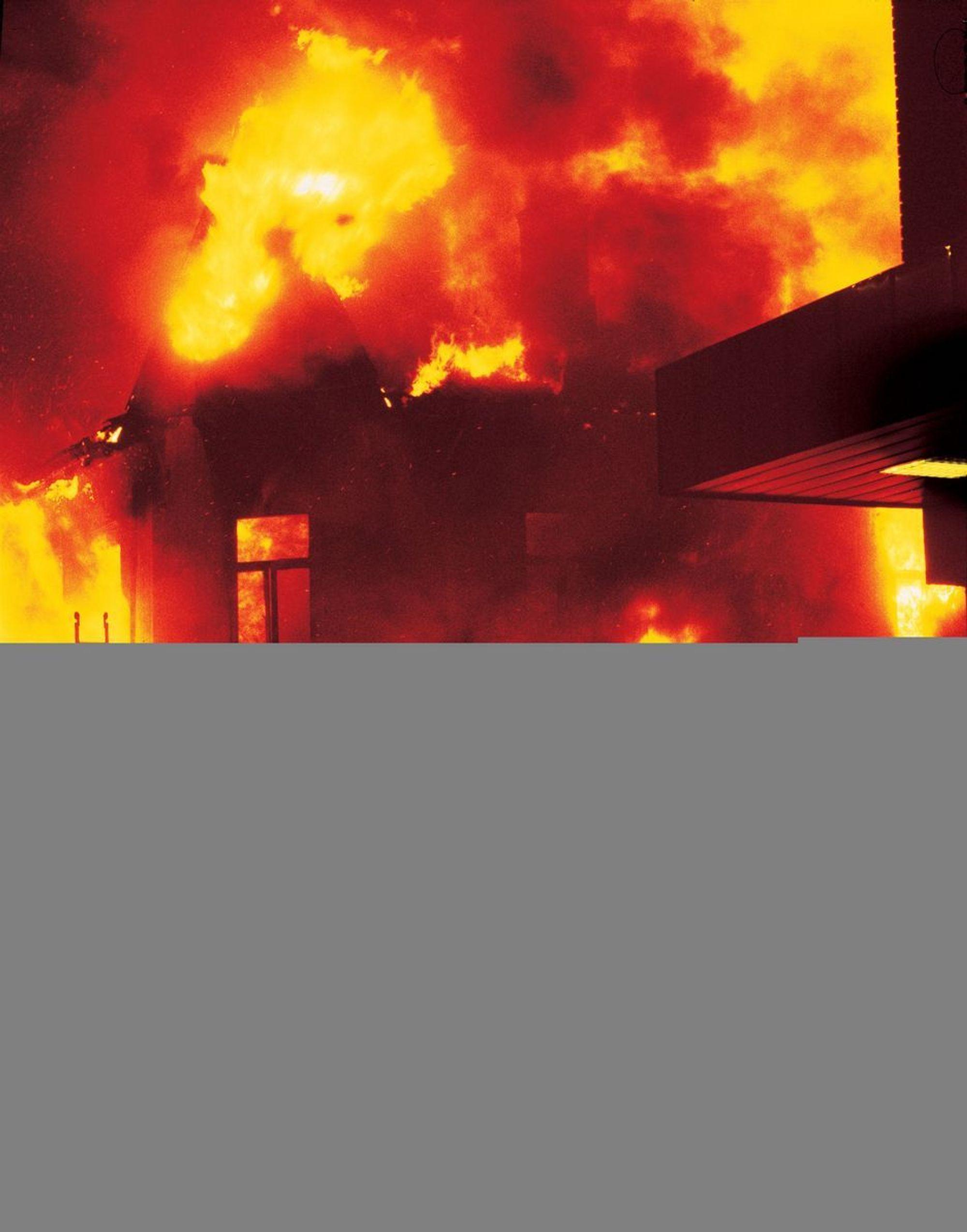 Rask røykvarsler: Den nye, trådløse røykvarsleren skal respondere raskere enn andre eldre modeller på alle typer branntilløp.