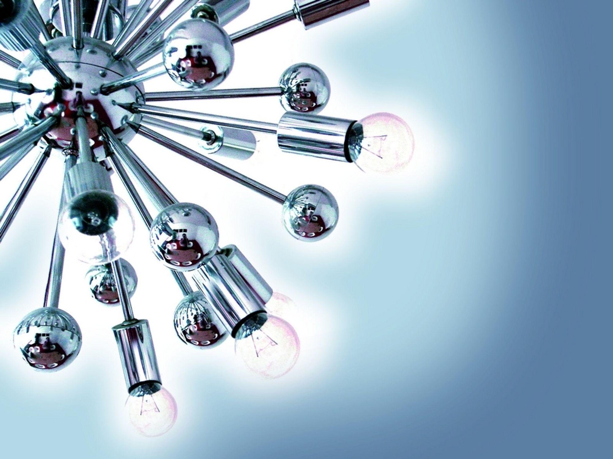"""VARIASJON: En variert bruk av glødepærer, halogenlys og sparepærer skaper flotte """"lysrom"""" i hjemmet ditt. Lyskultur råder deg til å vurdere nøye hva slags lys du trenger til ulik bruk."""