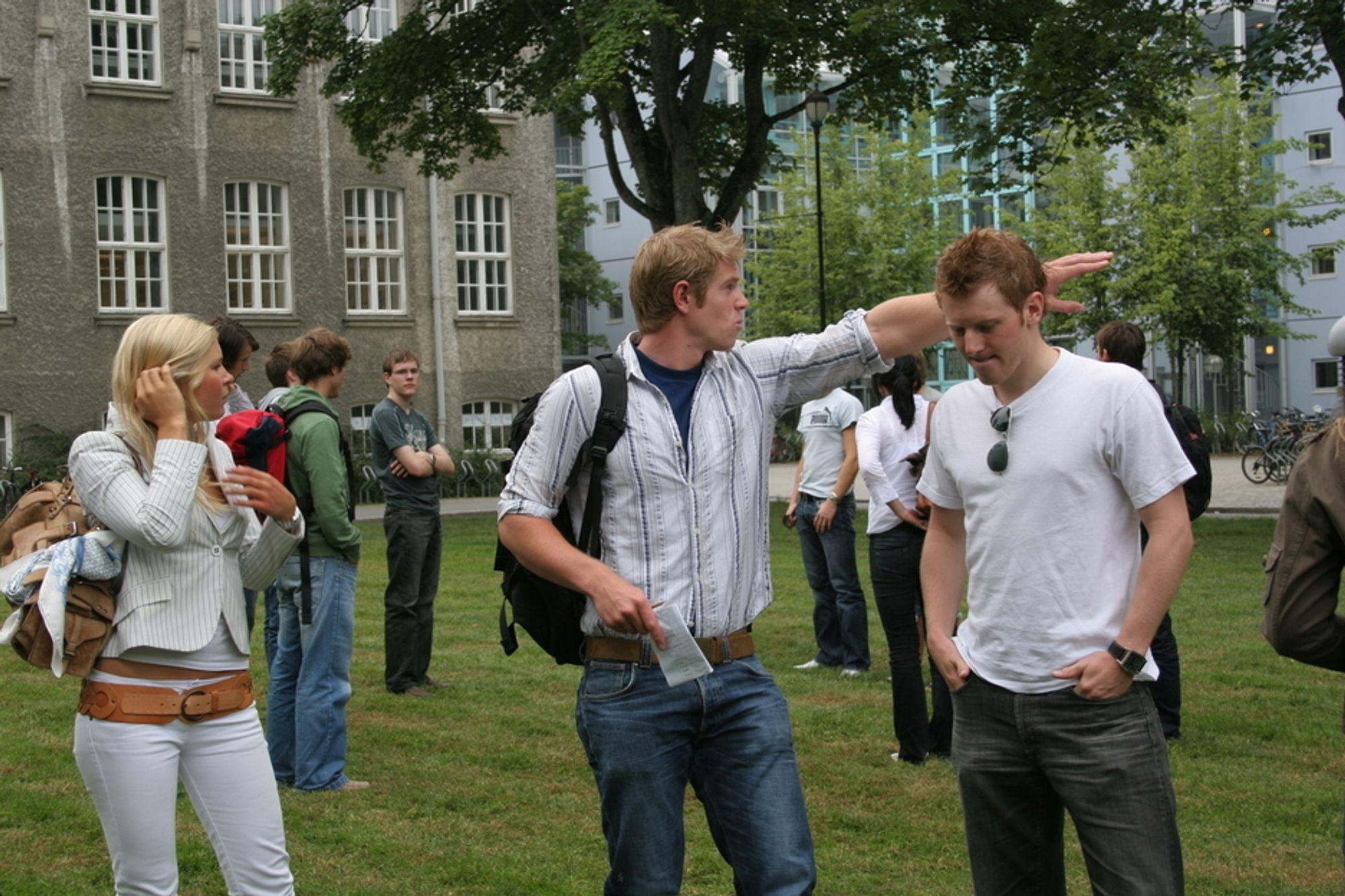 Ved NTNU står næringslivet i kø for å få presentert seg for studentene. Nye geofagstudenter kan vente seg jobbtilbud lenge før de tar eksamen.
