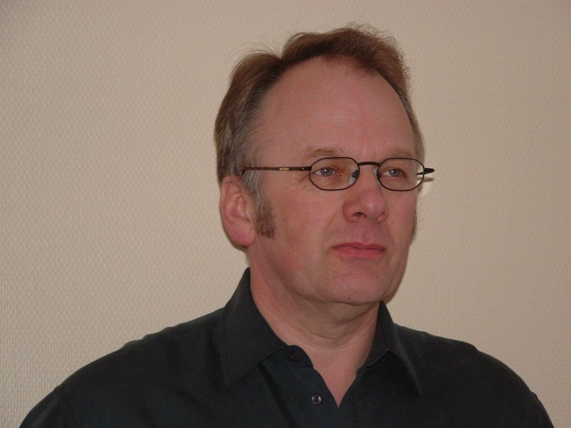 Kjell Dehli som er norsk representant for Svenska Mässan og Scanautomatic