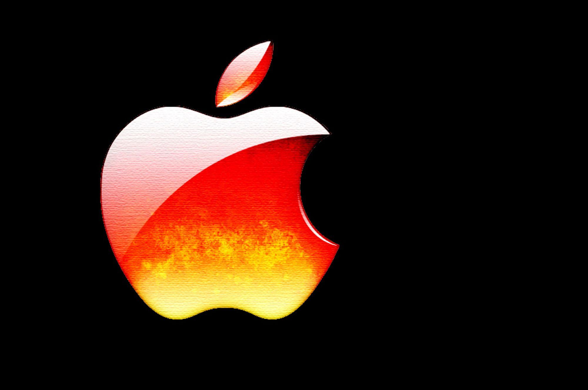 HETT: Apple brenner også, ikke bare Dell. Men feilen ser i begge tilfeller ut til å ligge hos samme underleverandør.