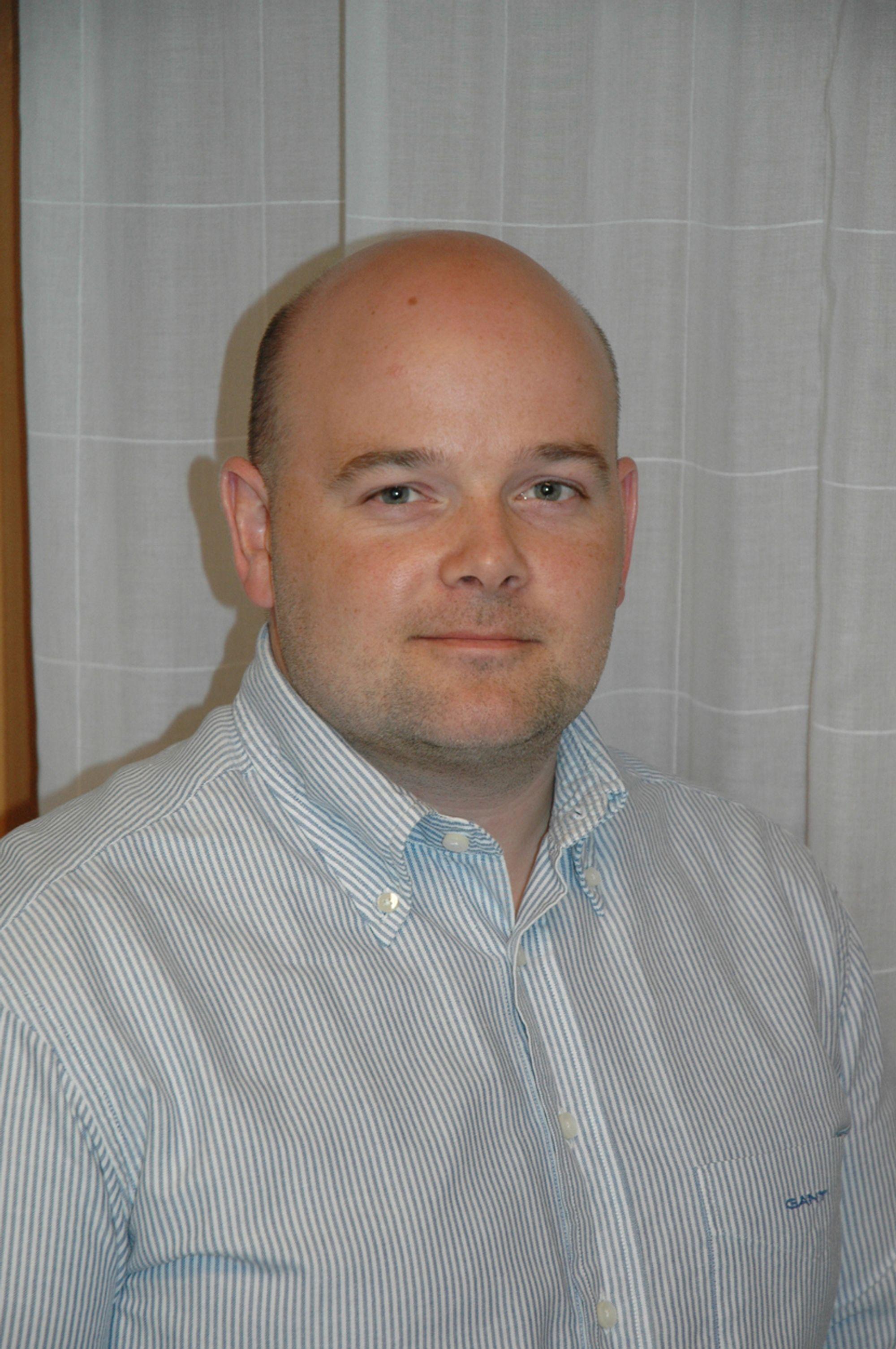 Thomas Norland, daglig leder opplæringskontoret til EBA, Oslo og Akershus