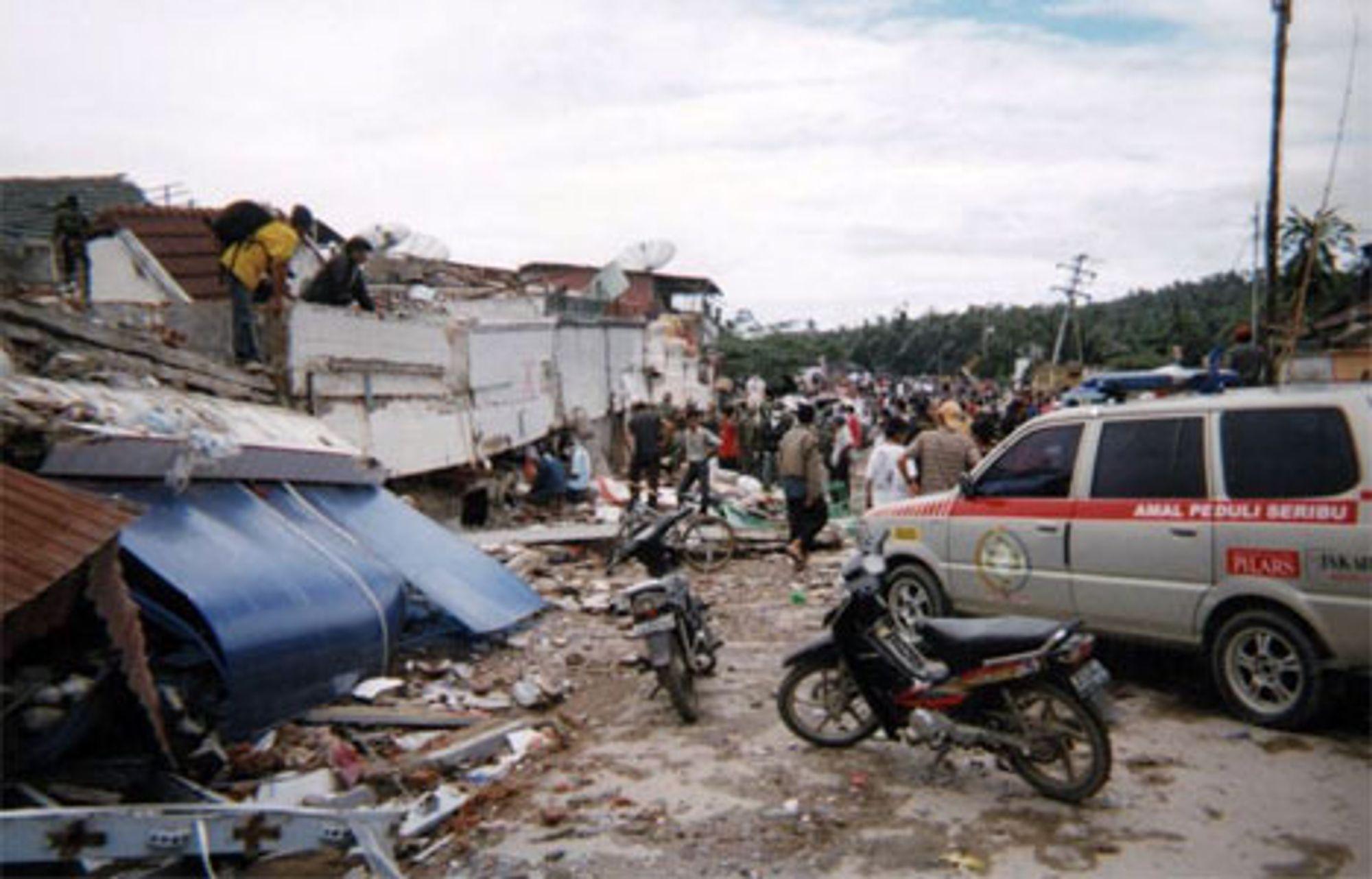 Jordskjelvet på Java i mai førte til omfattende ødeleggelser.