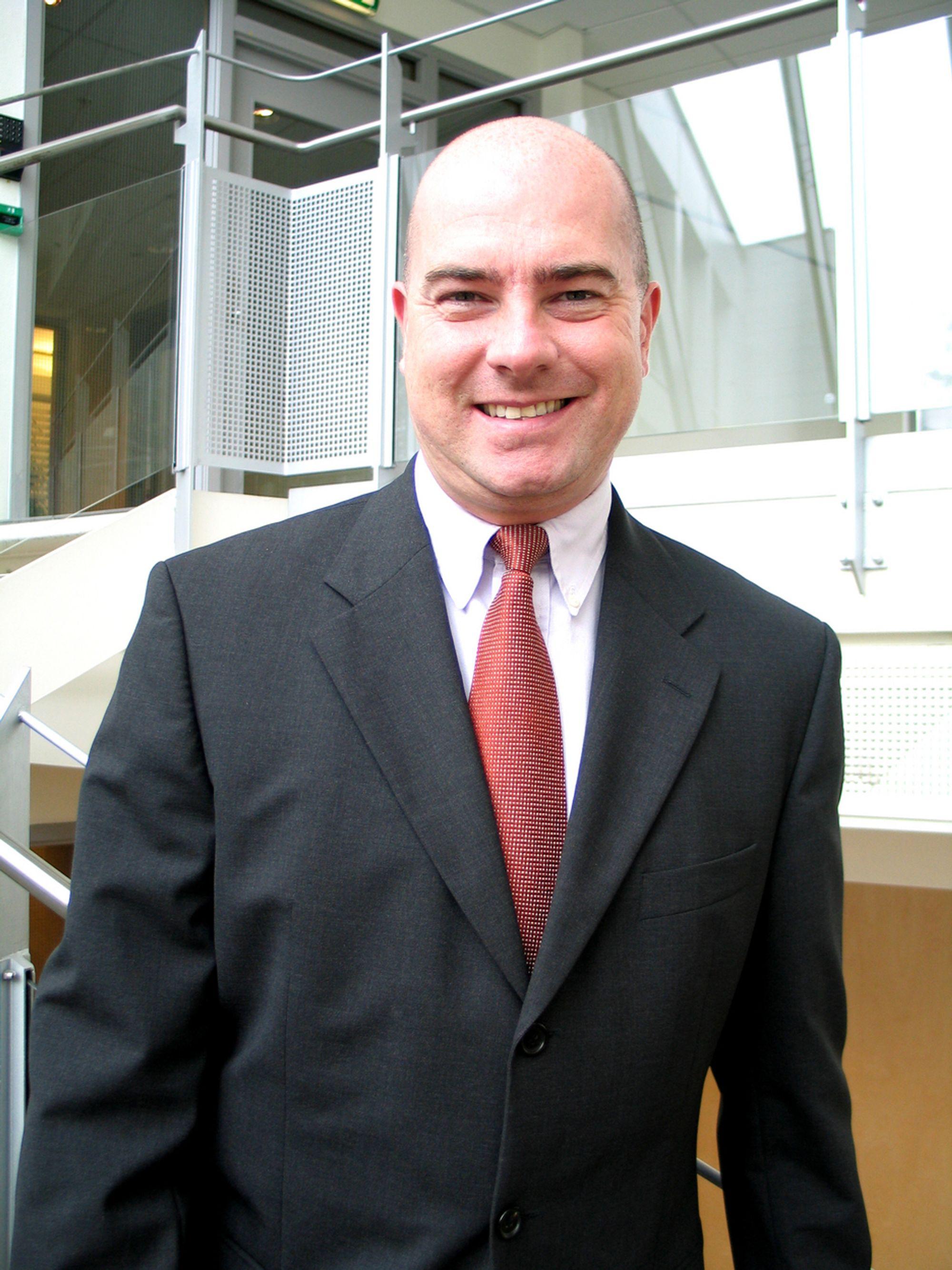 Rolf Bive (39) kom til UPC Sverige i 2000, etter to år som Chief Information Officer (CIO) i Telenordia AB i Stockholm. Før det jobbet han i British Telecom og KLM, i Sverige, Nederland og UK.