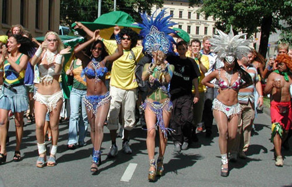 Sjansene øker for en gedigen fotballfest i Oslo sentrum 9. juli. Dette er etter VM-finalen for fire år siden. Olé, olé!