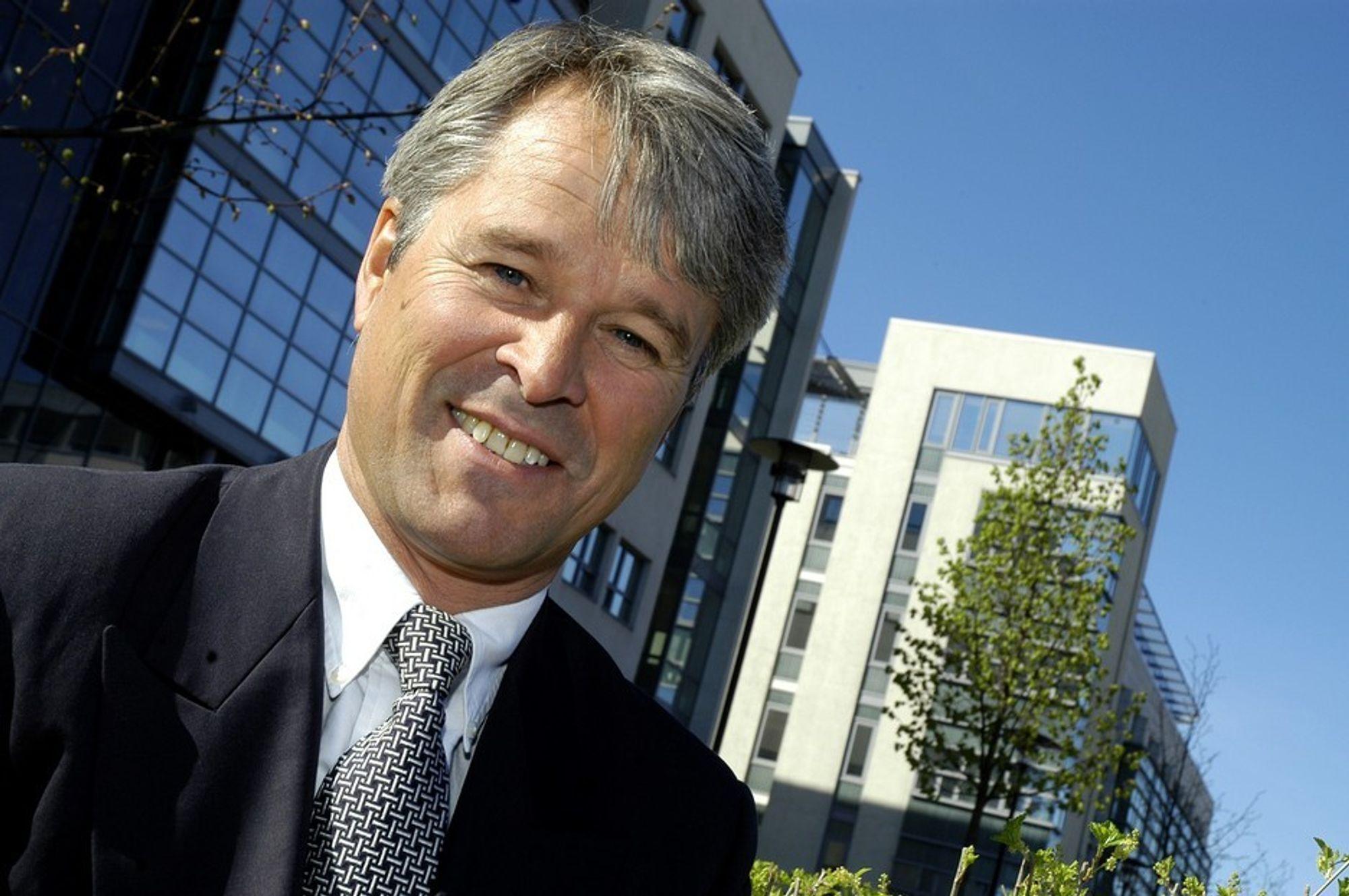 Petter Guldbrandsen, adm.direktør i Compuware