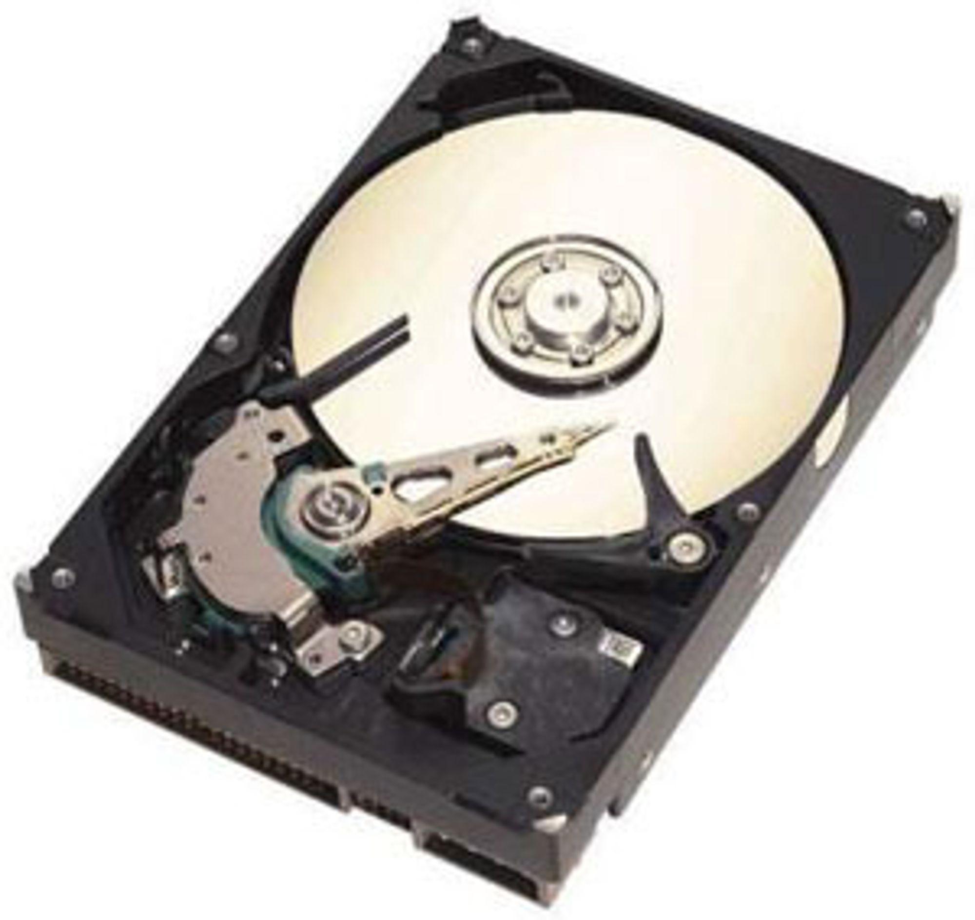 Nærmer seg terabyten