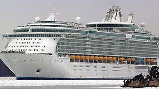Cruiseskip på løpende bånd