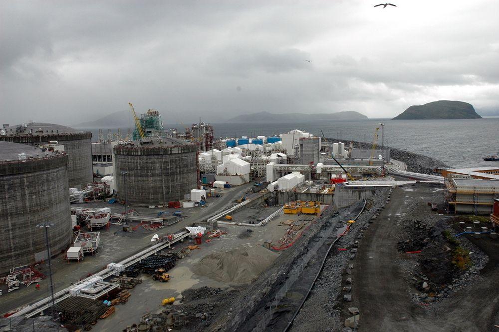 TRENGER MER: Skal Statoil nå sin ambisjon om et prosesstog to på Snøhvit, må det letes og finnes mer gass i Barentshavet.