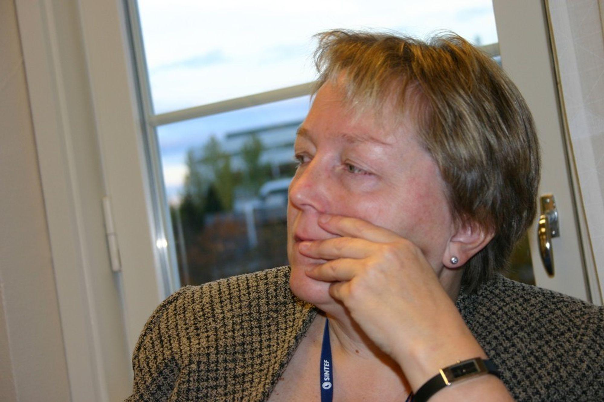 Konsernsjef Unni Steinsmo og resten av Sintef nådde ikke gjennom til Høyesterett med sin anke i skattesaken.