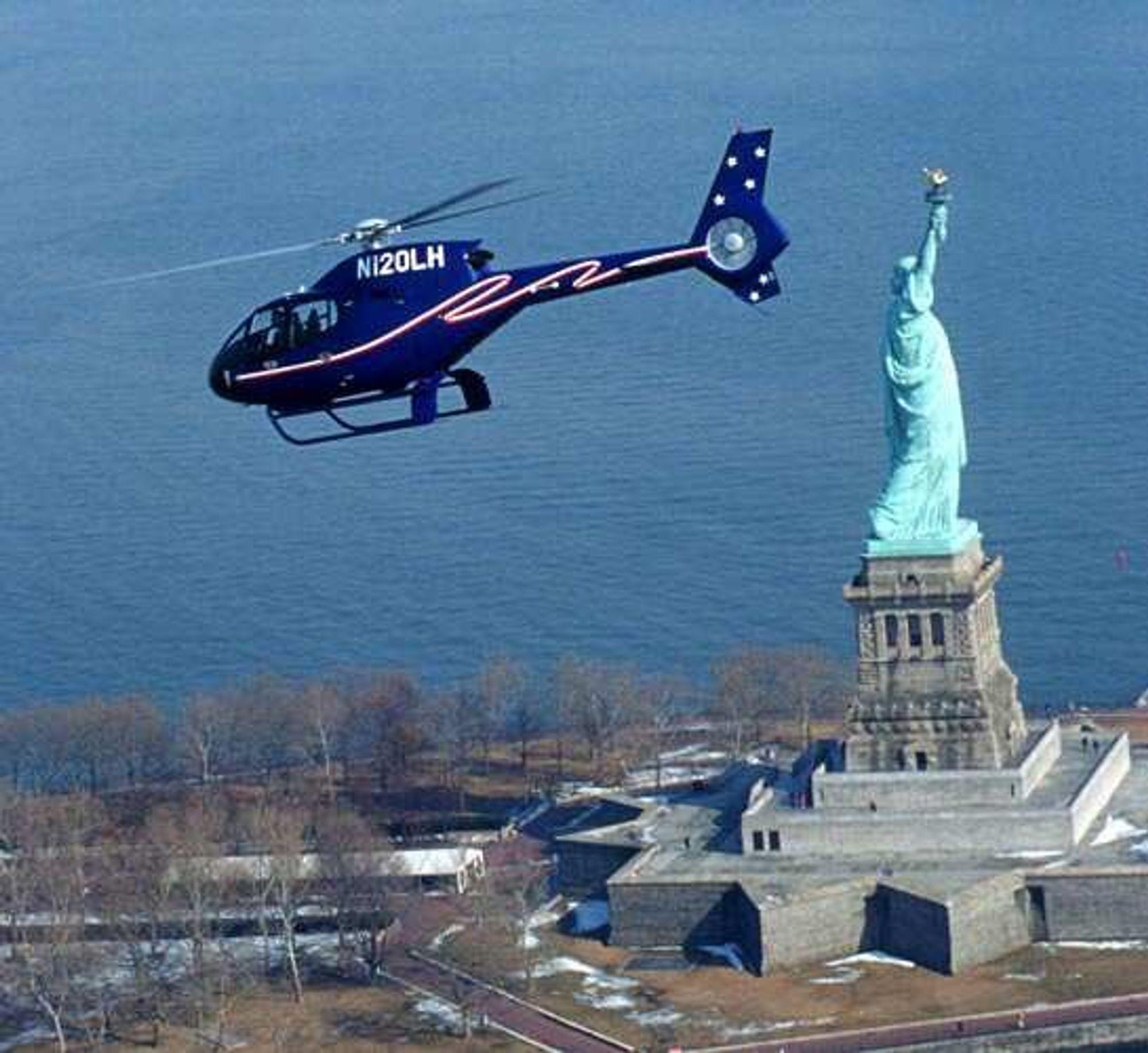 ER DER: Bildet viser en av de mange sivile Eurocoptermodellene som allerede er i bruk i USA. En militær variant av denne modellen skal nå inn i US ARMY.