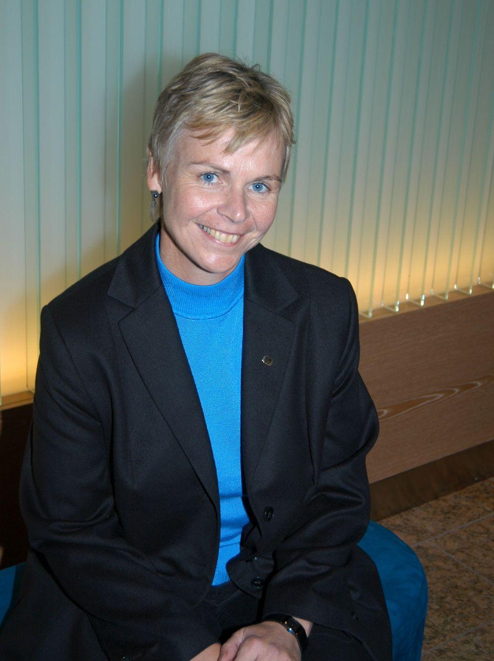 NITO-president Marit Stykket har saumfart statsbudsjettforslaget. NITO er lite imponert.