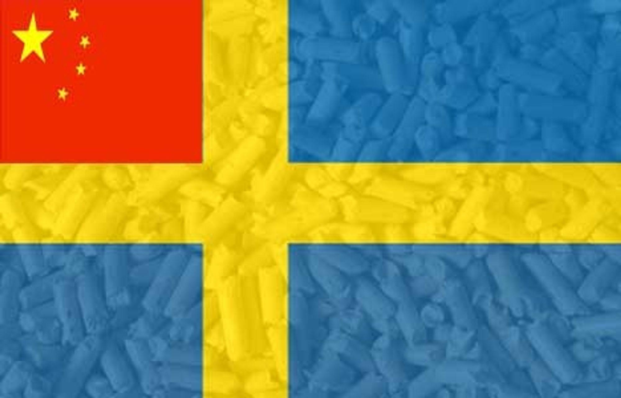 Kinesere bygger i Sverige