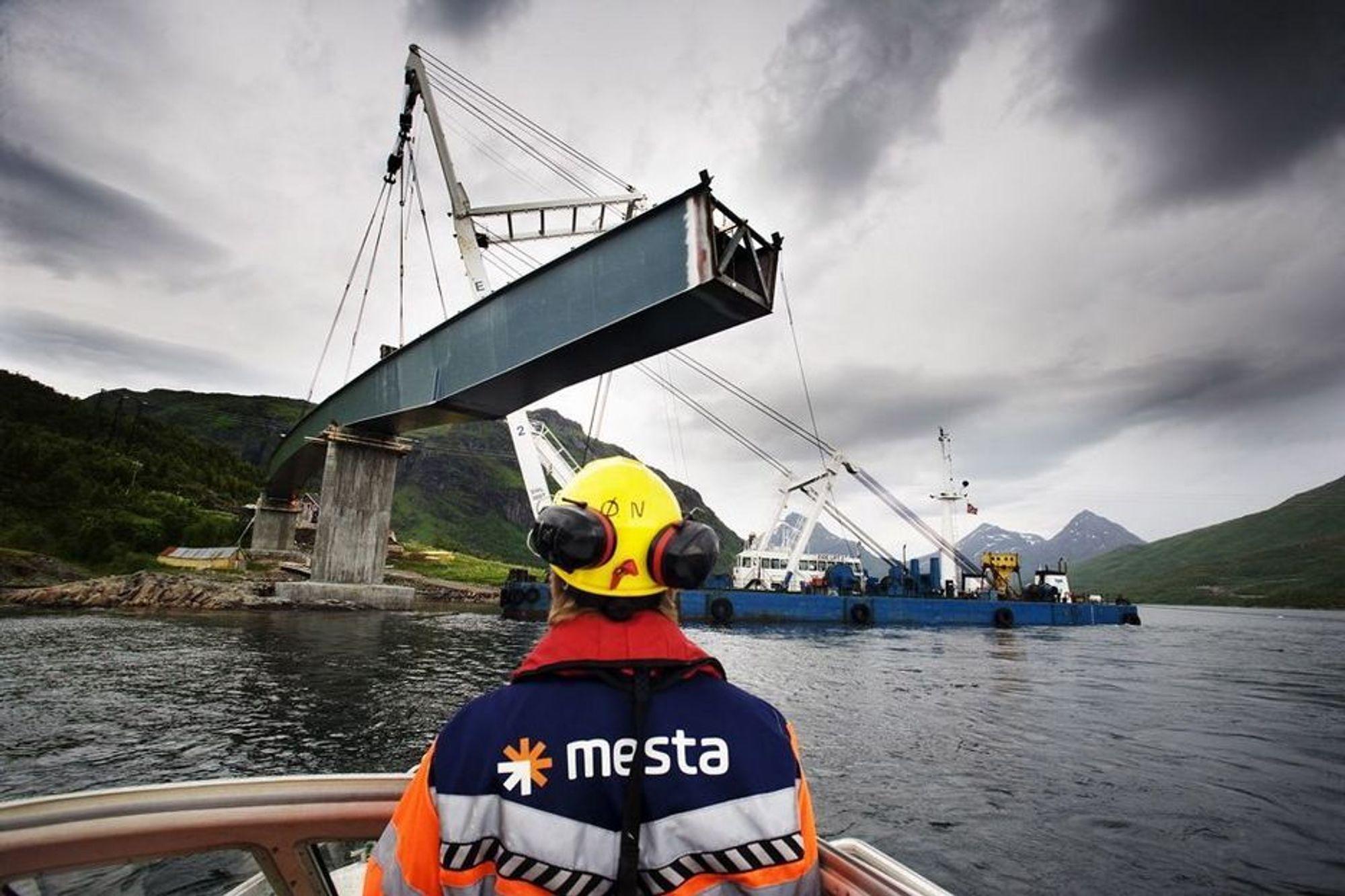 MER UTBYGGING: Mesta drifter i dag halve vei-Norge. Med flere utbyggingskroner fra Regjeringen ser det lyst ut for nye utbyggingsprosjekter for mesta og deres konkurrenter.