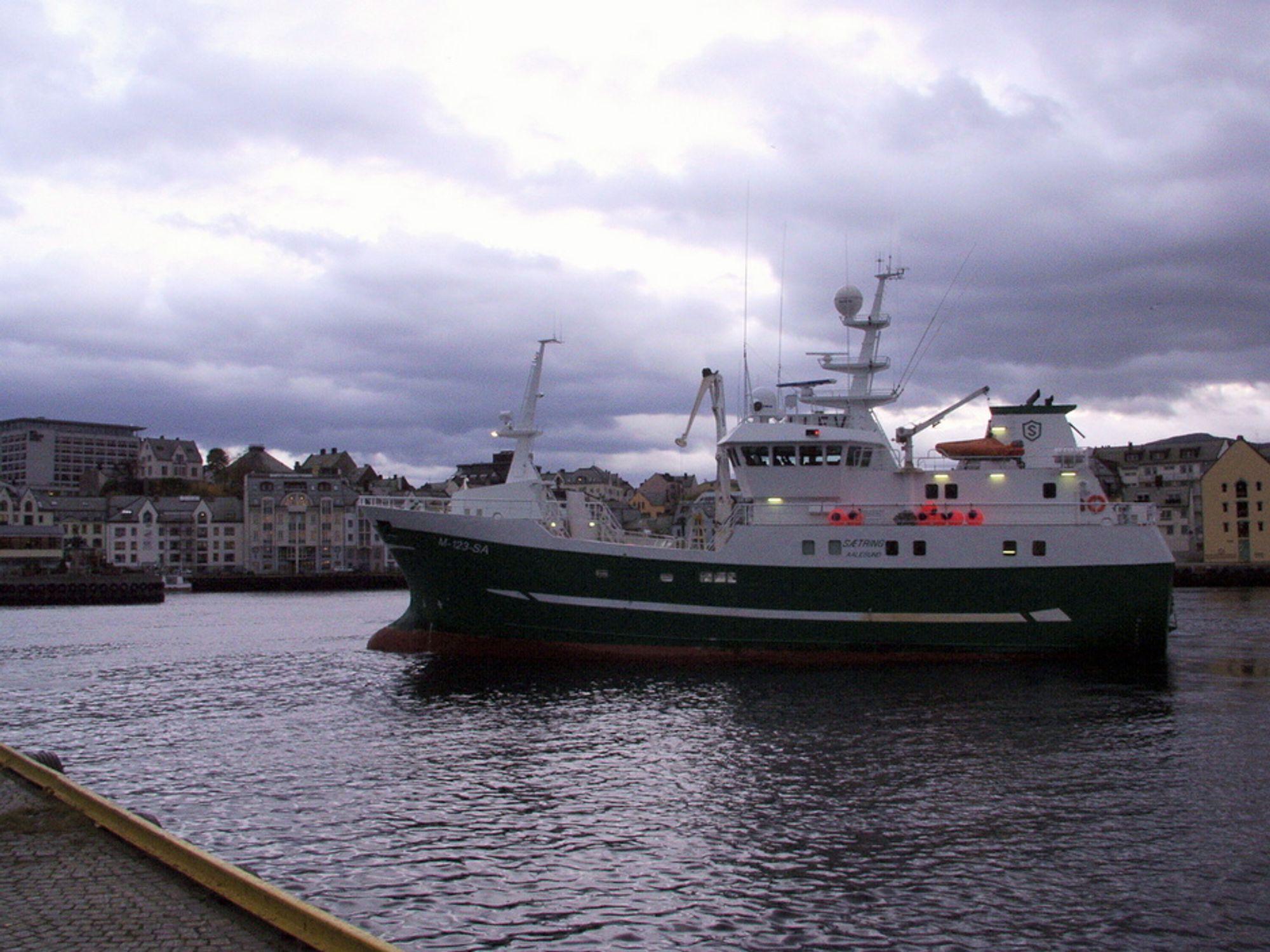 NOx -avgift skremmer fiskerne