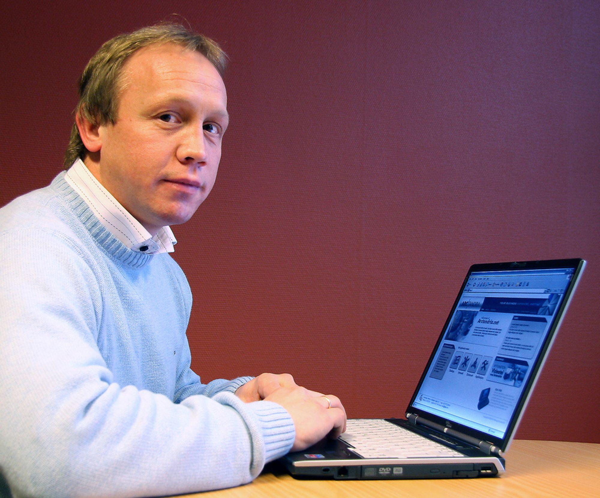 MR STANDARD:Jonny Tungen er daglig leder i IQ som satser tungt på standarder levert som alt-i-ett portalløsninger til kundene.
