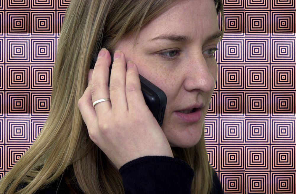 SPERRET: I rom der mobiltelefon ikke skal brukes kan man nå lime inn veggtapet som stenger for mobilsignalene.