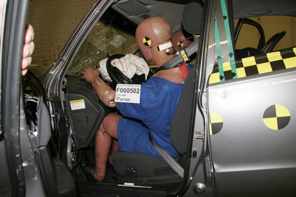 BELTEALARM: Alarm i bilen om sikkerhetsbelte er det samfunnsøkonomisk mest effektive sikkerhetstiltaket i biler, ifølge en ny studie.