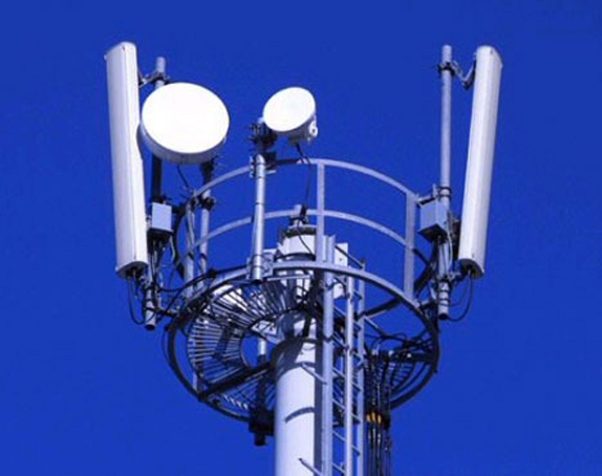 3G-mastene blir en del høyere og mer dominerende enn tilsvarende for GSM.