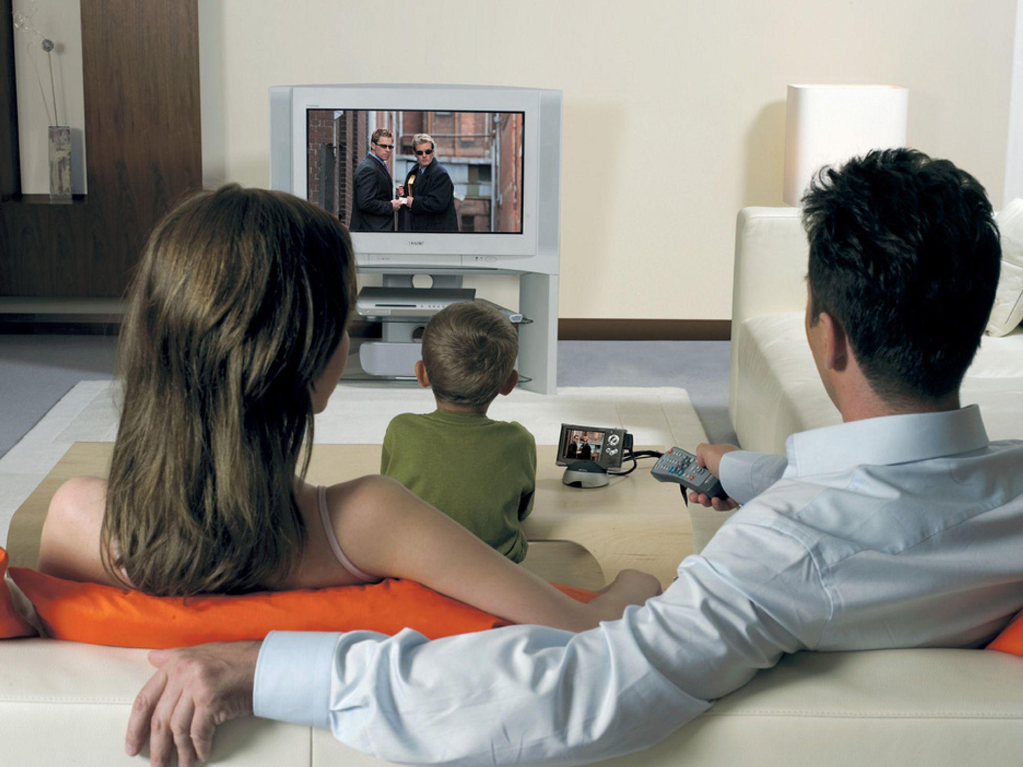 Norske husstander ligger på femteplass i Europa når det gjelder bredsbåndtilknytning. Fjernsyn over internett er et av tilbudene som kan øke denne prosentandelen.