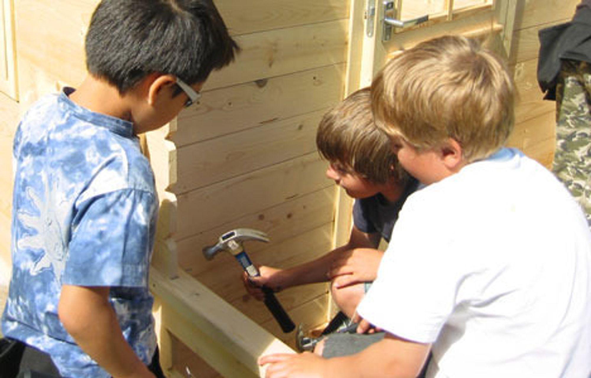 Byggeskole for barna