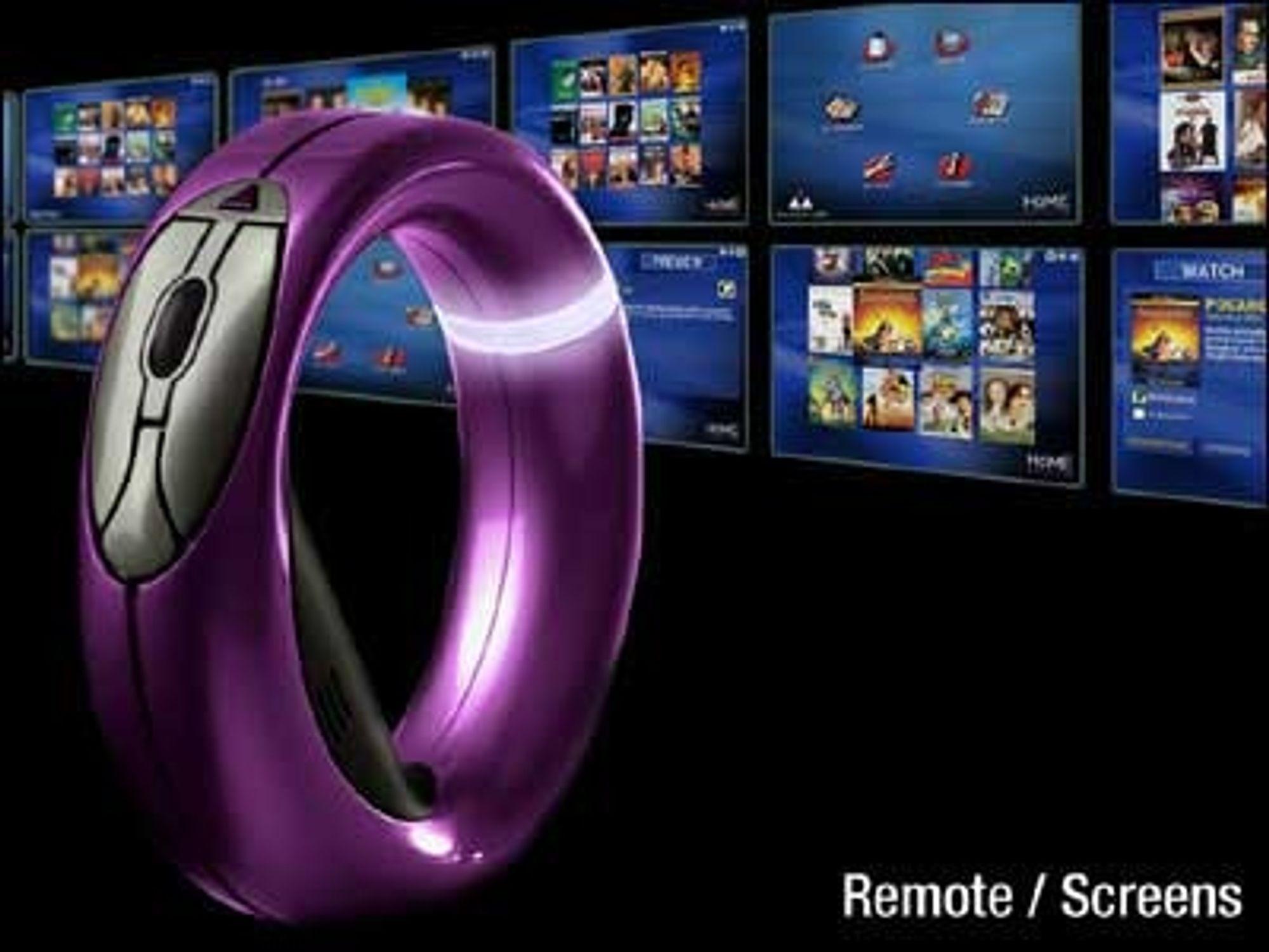 The Loop setter en ny standard for designen på fjernkontroller og pekeinnretninger.