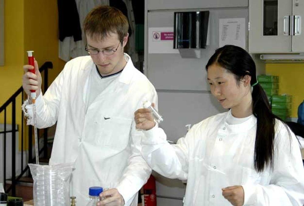 BEDRE: Studenter ved Massachussetts Institute of Technologi driver akkurat nå og gjenskaper livet, i ny form. De syntetisk/biologiske konstruksjonene som kommer skal operere inne i levende bakterieceller. Teknologien handler i prinsipp om å plukke livets bestandeler fra hverandre og sette dem sammen igjen til en enda mer formålstjenlig enhet.