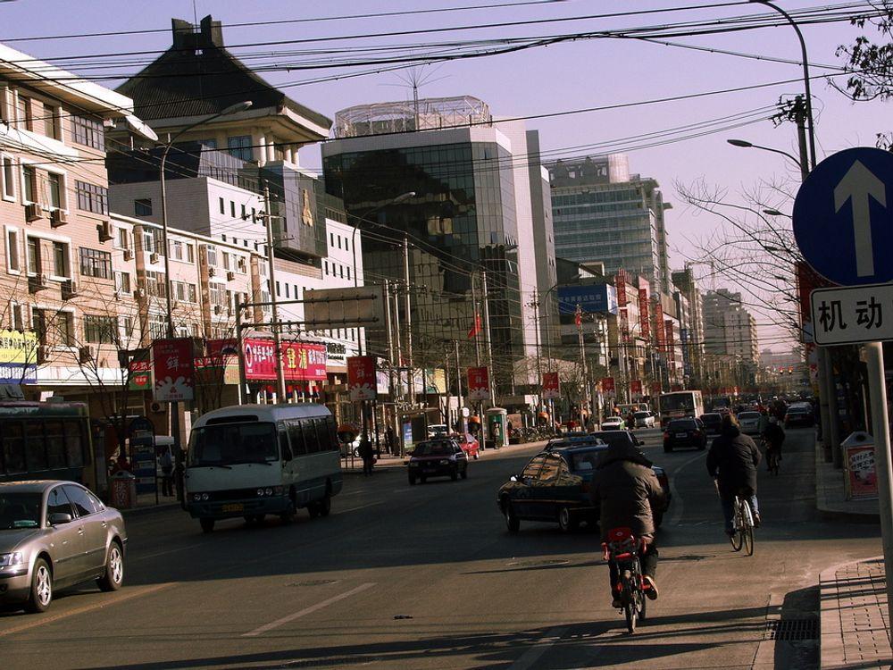 KINA HAR RÅD: Veksten i Kinas økonomi og stadig økende bilpark, krever mer olje, og de har råd til å betale for den.