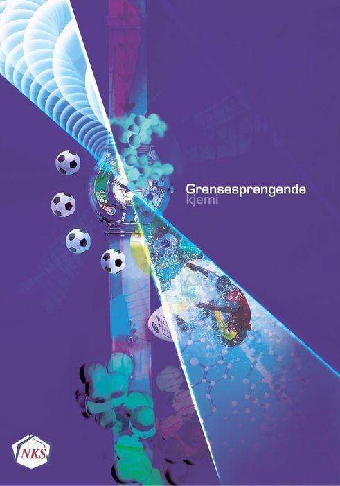 """Omslaget til boka """"Grensesprengende kjemi"""", som Norsk Kjemisk Selskap står bak."""