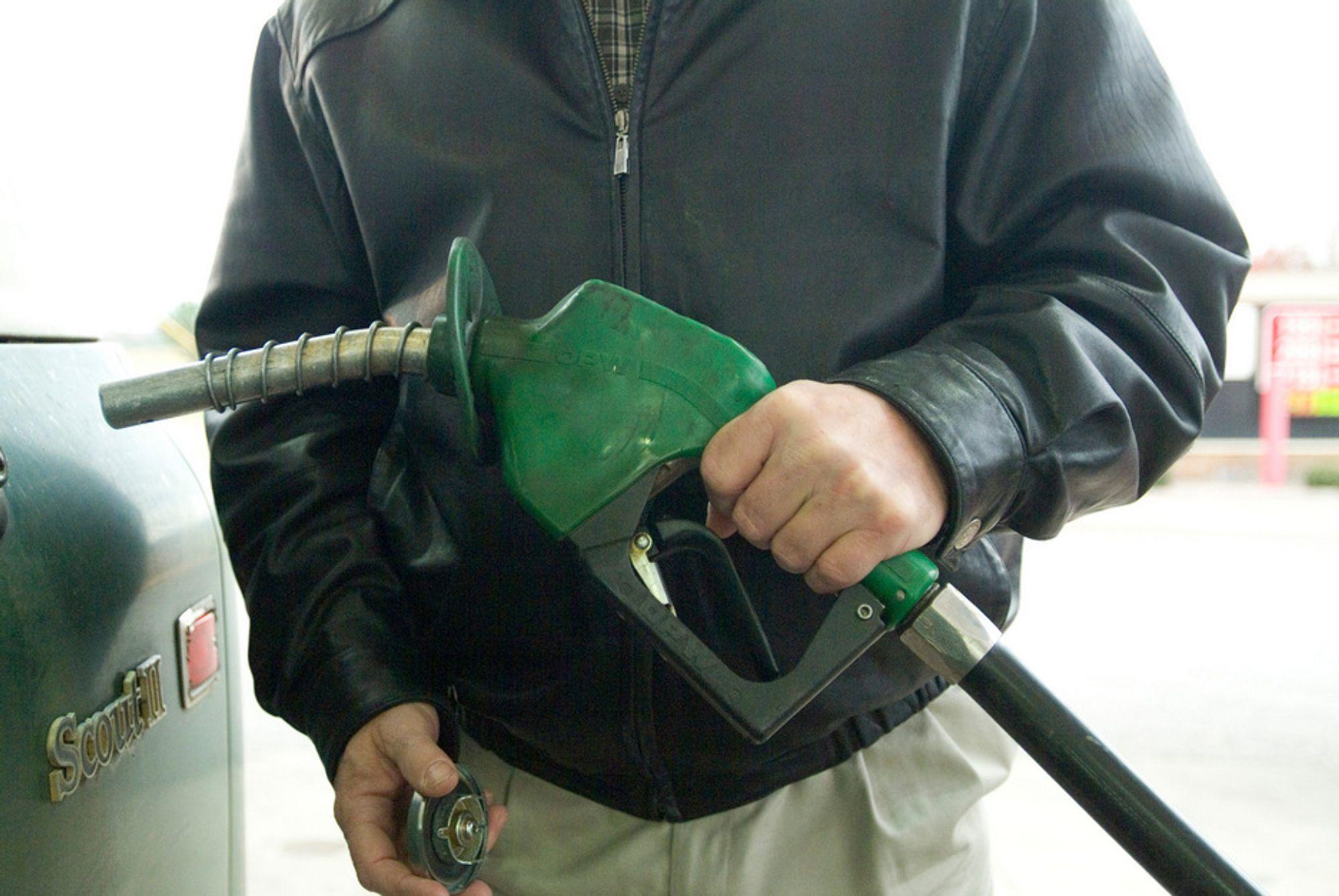 Fortsatt bensin og diesel