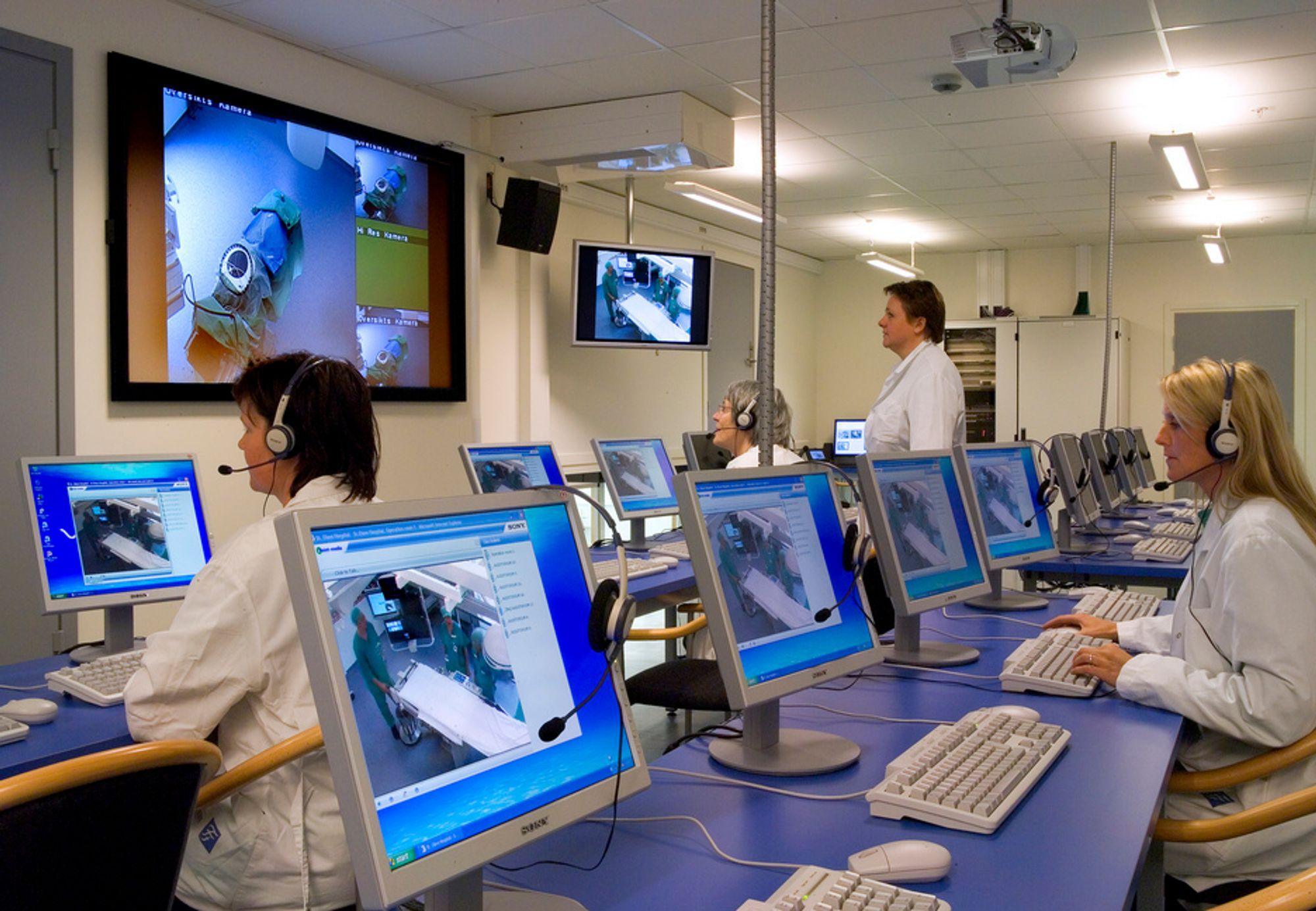 HD-video i operasjonssalen