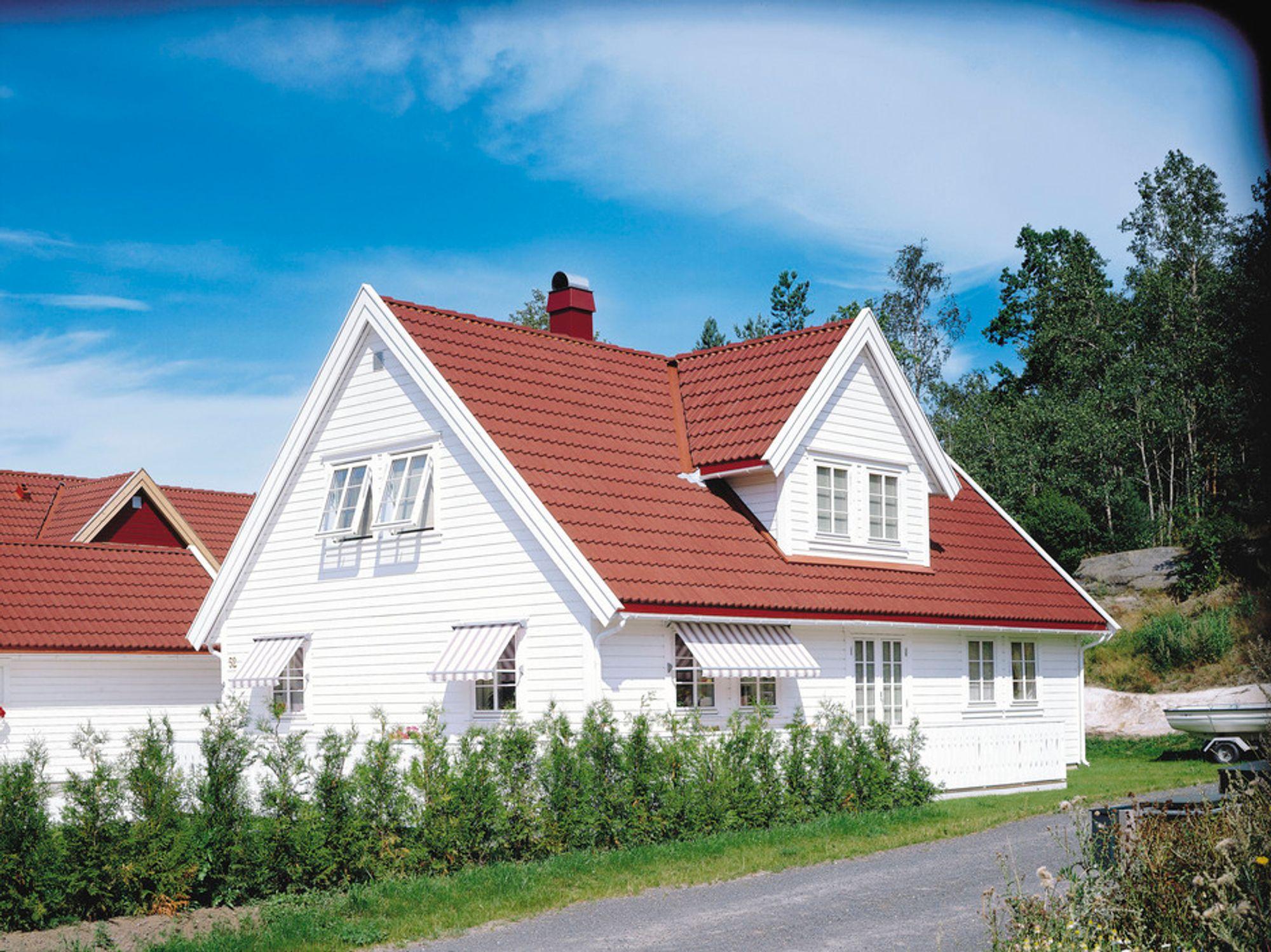 STIGER MEST: Eneboliger har størst prisstigning viser tall fra eiendomsmeglerbransjen.