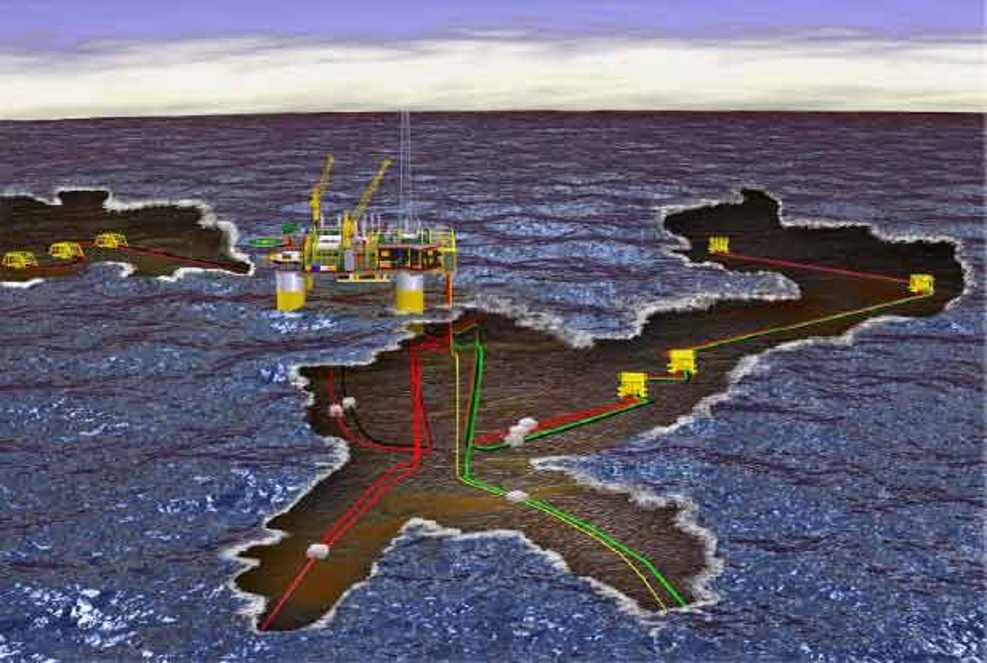 GJØA: Statoils Gjøa-utbygging bidrar sterkt til de høye prognosene for investeringer til feltutbygging i 2008.