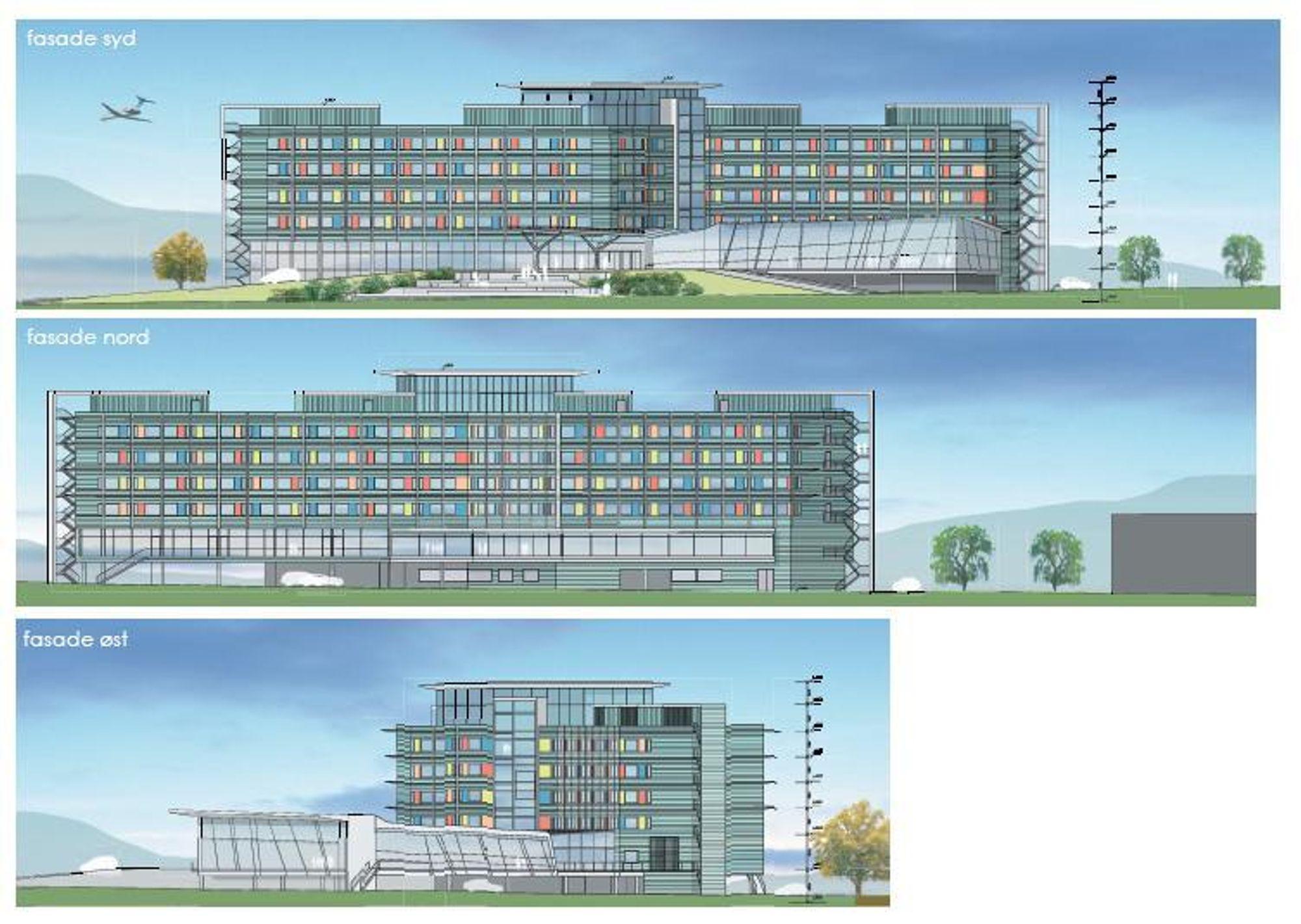 KLARGJØR: Clarion hotellet som skal bygges ved Flesland flyplass, har bidratt til å avklare rollene for rådgivende ingeniører: Nå kan de først definere prosjektet og deretter levere anbud ut fra egne beskrivelser.