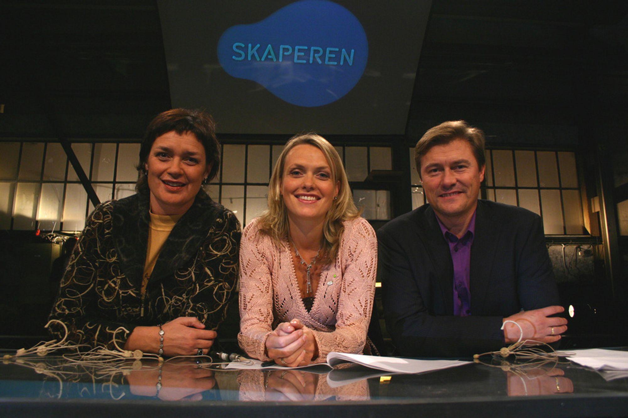 BYTTES UT: Anne Kathrine Slungård (f.v.), Randi Egge Husby og Idar Vollvik skal byttes ut med nye dommere. Hvem dette blir er ennå ikke klart.