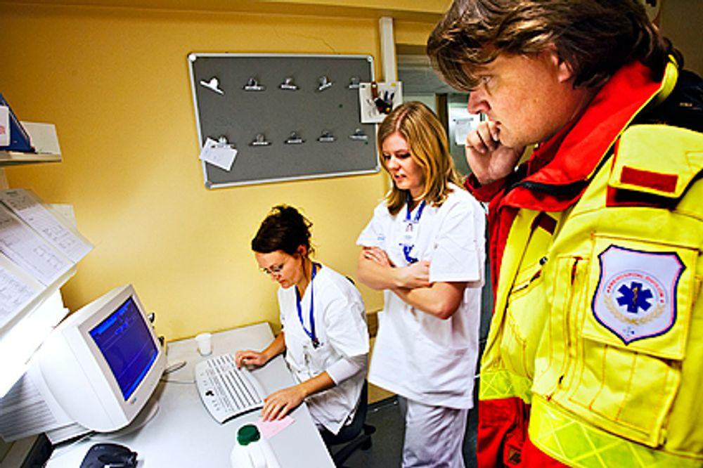 MEDISINSKE DATA: Med det nye nødnettet blir det mulig å overføre data fra medisinske  instrumenter.