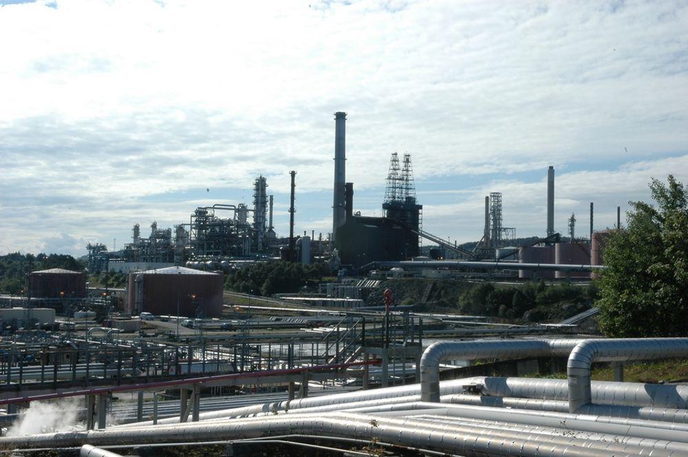 KLIMAVENNLIG: Avtalen med Staten kan gjøre Mongstad-raffinerinet til verdens mest miljøvennlige.