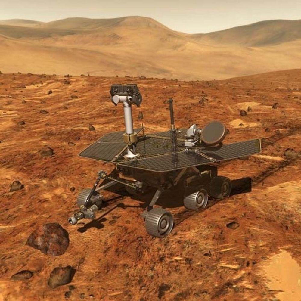 KRAFT: Batteriene i de farkostene som lander på Mars til våren, er av en helt ny type. NASA regner med at batteritypen - en ny generasjon litium-ionebatterier -  vil få stor betydning også på vår klode. FOTO: NASA