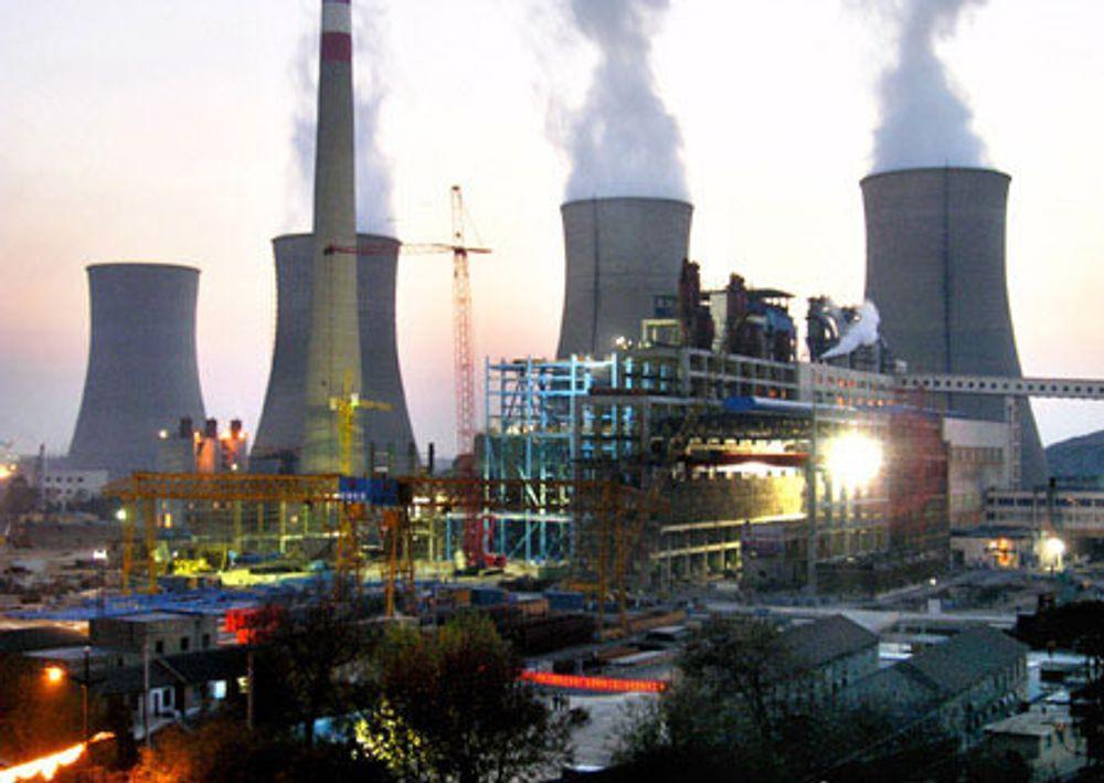 Dette kullkraftverket på 3600 MW er bygget i provinsen Anhui i Øst-Kina. Kineserne skal bygge tre slike i Mongolia de nærmeste årene for å dekke den økende etterspørselen etter elektrisitet i de nordlige provinsene av Kina.