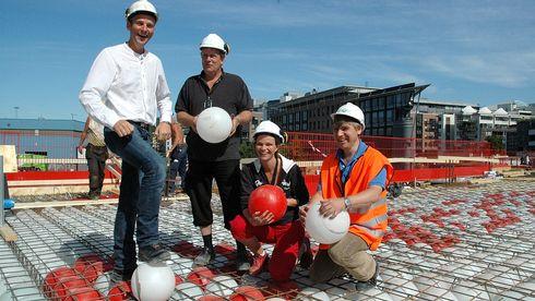Plastballer sparer 1500 tonn betong