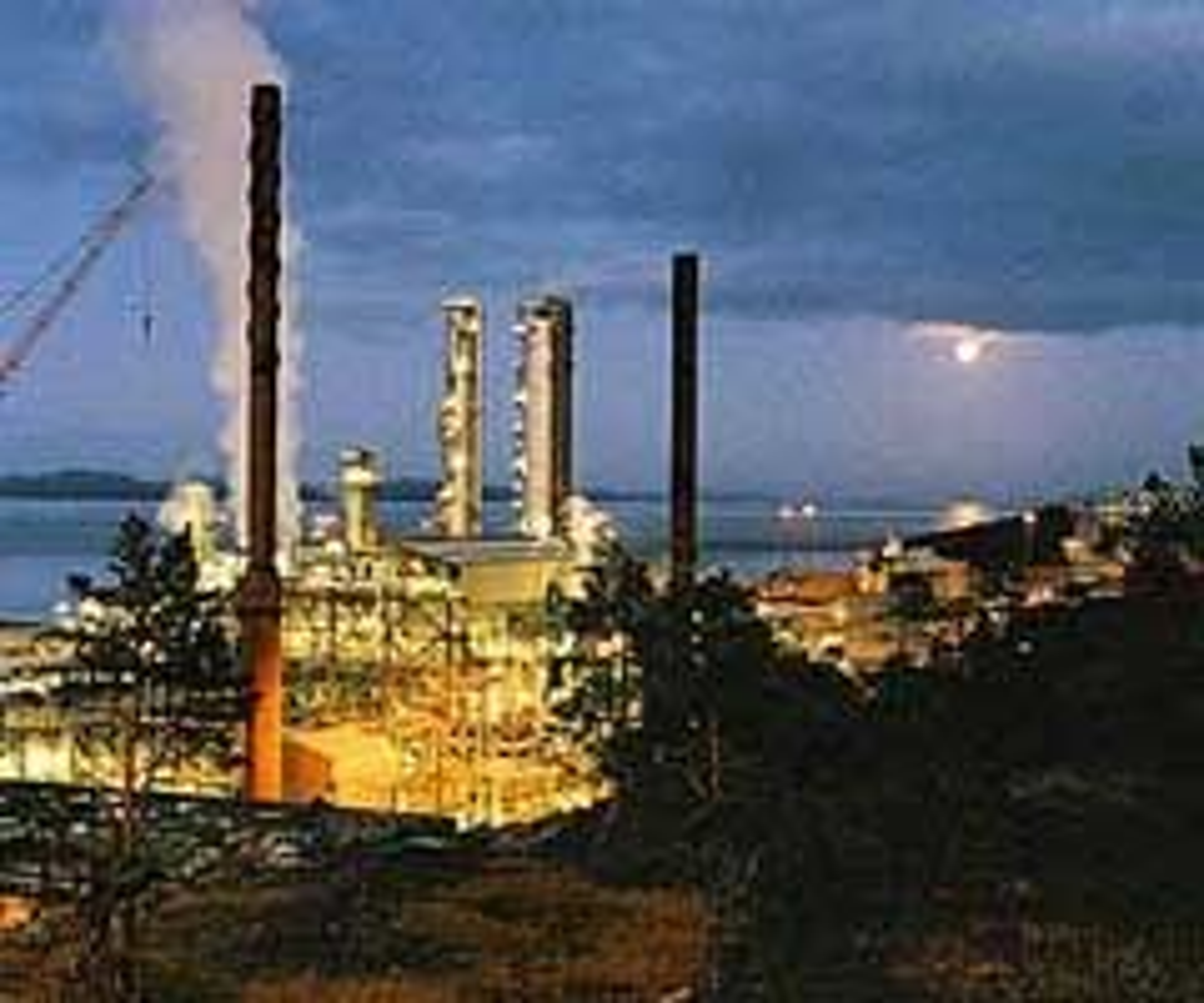 Tjeldbergodden. Anlegget produserte 915.518 tonn metanol. Det representerer 106 tonn metanol per time i gjennomstrømning. Foto: Statoil