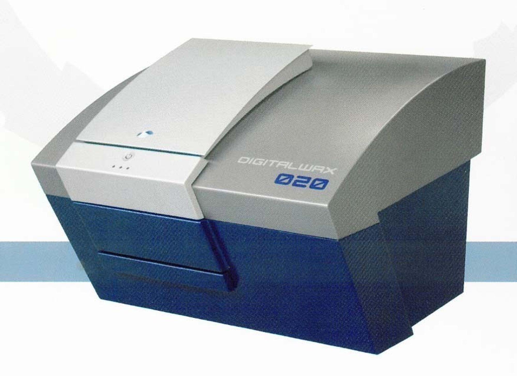 SLA-maskin på skrivebordet