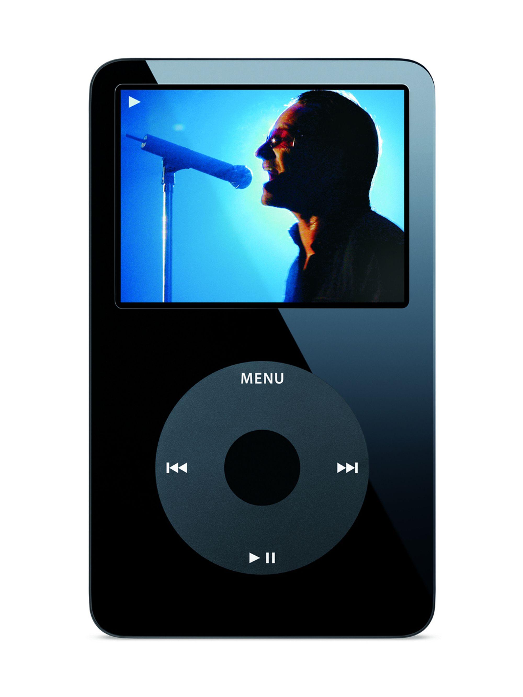 iPod video.