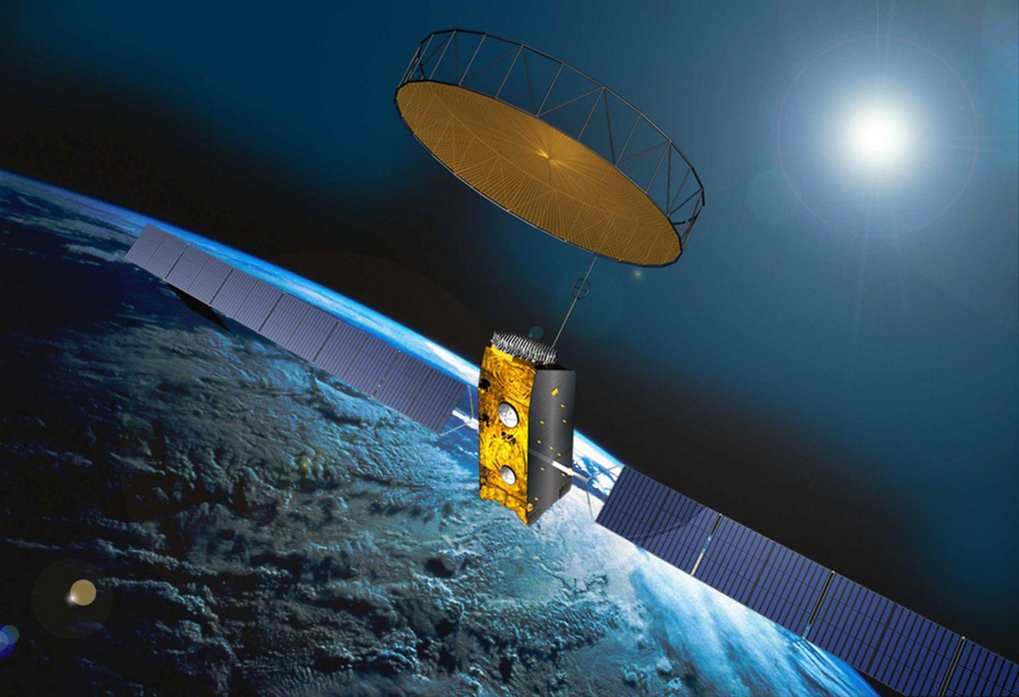 Satellitter må også forsikres. Det er dyrt.