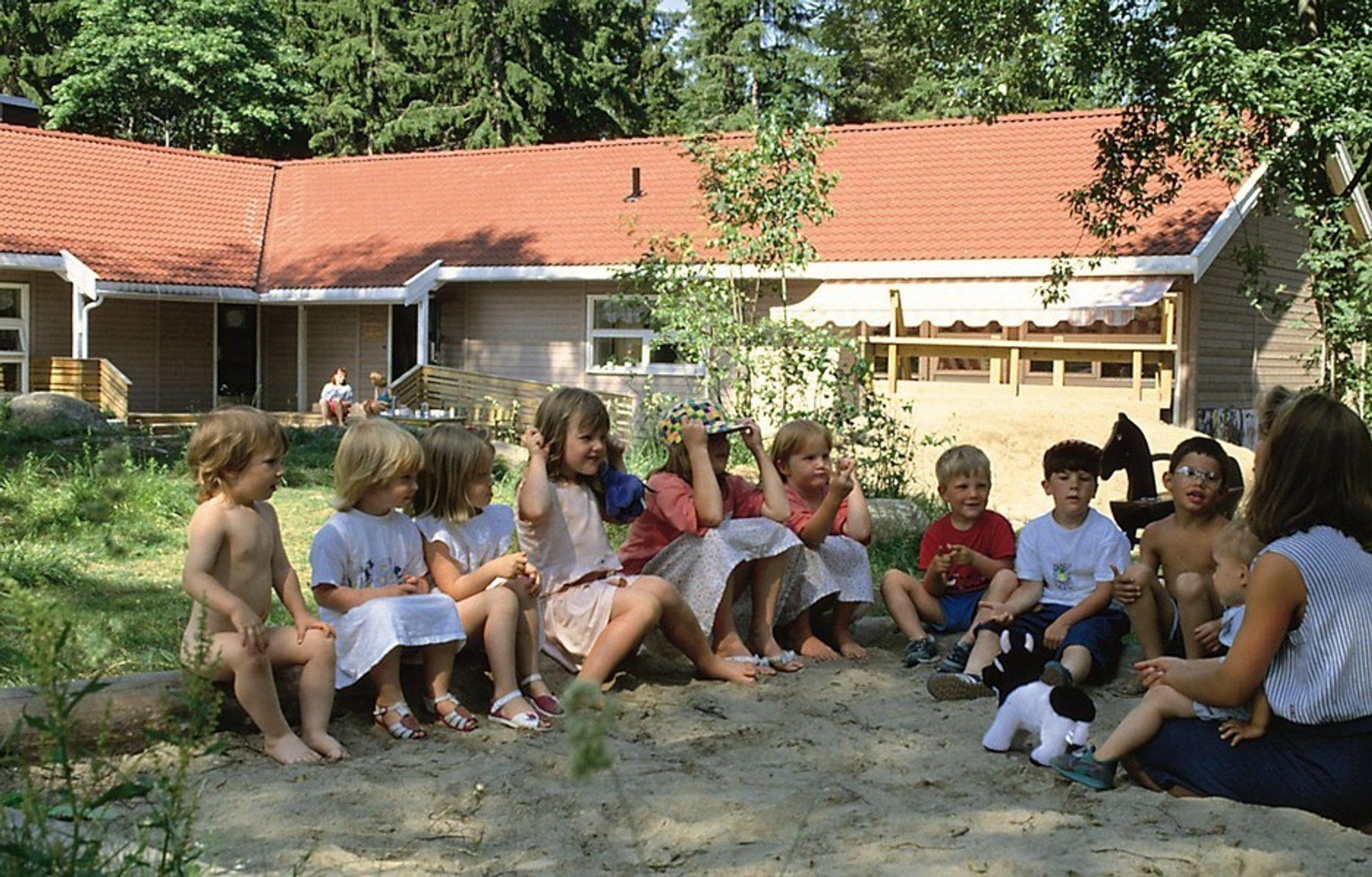 MODULBARNEHAGER:¿ Moelven ByggModul AS kan levere en barnehage i uka fra og med mai neste år, forsikrer direktør Stadshaug.