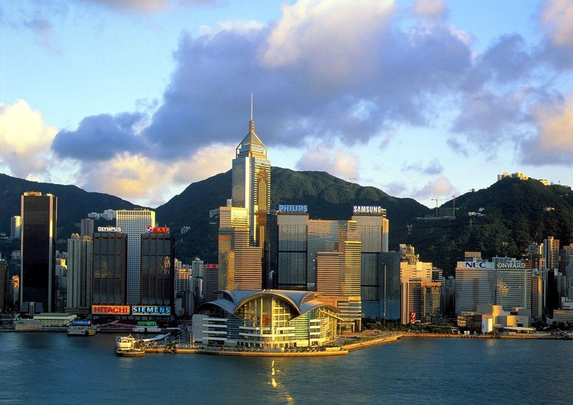 KLOAKKTUNNEL: Sintef deltar i et gedigent tunnelprosjekt i Hong Kong.