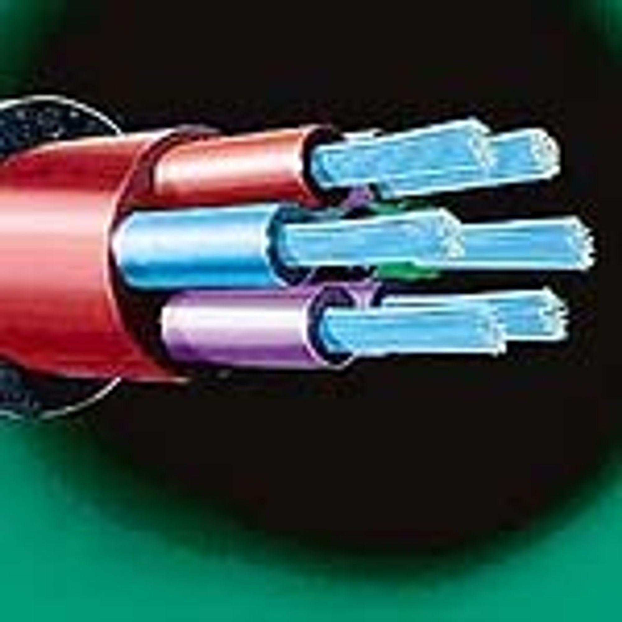 SJØKABEL: En fiberkabel mellom Moss og Horten vil inneholde ikke mindre enn 384 fiberpar. ILL: TELE1